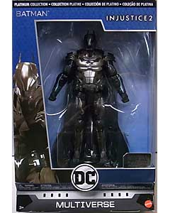 MATTEL DC COMICS MULTIVERSE 6インチアクションフィギュア PLATINUM COLLECTION INJUSTICE 2 BATMAN [ARMOR MODE]