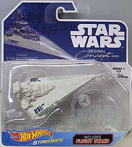 MATTEL HOT WHEELS STAR WARS DIE-CAST VEHICLE 2018 ORIGINAL CONCEPT SERIES CONCEPT STAR DESTROYER