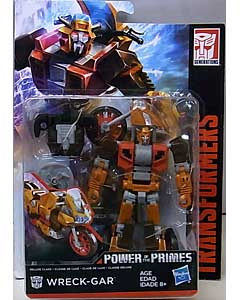 HASBRO TRANSFORMERS GENERATIONS POWER OF THE PRIMES DELUXE CLASS WRECK-GAR