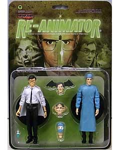 AMOK TIME MONSTARZ 3.75インチアクションフィギュア RE-ANIMATOR DR. HERBERT WEST AND DR. CARL HILL 2PACK