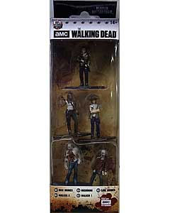 JADA TOYS NANO METALFIGS THE WALKING DEAD TV 5PACK PACK A