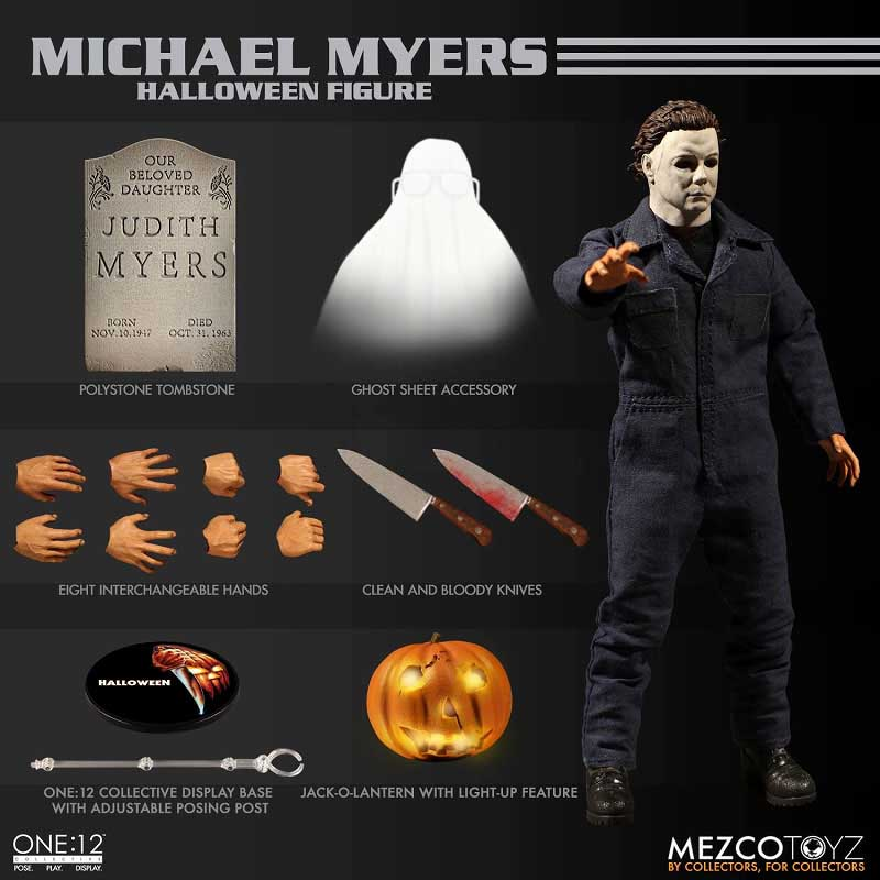 MEZCO ONE:12 COLLECTIVE HALLOWEEN MICHAEL MYERS