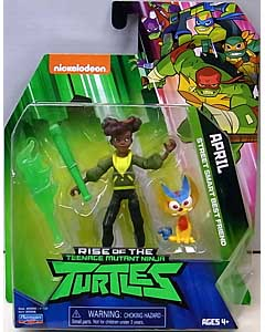 PLAYMATES RISE OF THE TEENAGE MUTANT NINJA TURTLES ベーシックフィギュア APRIL