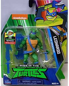 PLAYMATES RISE OF THE TEENAGE MUTANT NINJA TURTLES ベーシックフィギュア LEONARDO