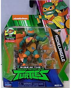 PLAYMATES RISE OF THE TEENAGE MUTANT NINJA TURTLES ベーシックフィギュア MICHELANGELO