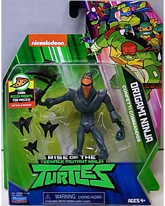 PLAYMATES RISE OF THE TEENAGE MUTANT NINJA TURTLES ベーシックフィギュア ORIGAMI NINJA 台紙傷み特価