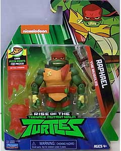 PLAYMATES RISE OF THE TEENAGE MUTANT NINJA TURTLES ベーシックフィギュア RAPHAEL 台紙傷み特価