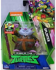 PLAYMATES RISE OF THE TEENAGE MUTANT NINJA TURTLES ベーシックフィギュア SPLINTER 台紙傷み特価