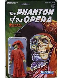 SUPER 7 REACTION FIGURES 3.75インチアクションフィギュア UNIVERSAL MONSTERS THE MASQUE OF THE RED DEATH 台紙傷み特価