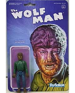 SUPER 7 REACTION FIGURES 3.75インチアクションフィギュア UNIVERSAL MONSTERS THE WOLF MAN
