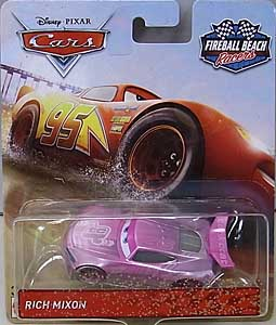 MATTEL CARS 2018 FIREBALL BEACH RACERS シングル RICH MIXON 台紙傷み特価
