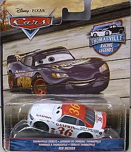 MATTEL CARS 2018 THOMASVILLE RACING LEGENDS シングル REB MEEKER 台紙傷み特価