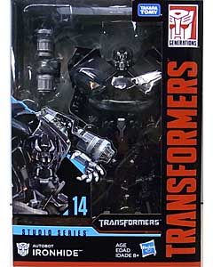 HASBRO TRANSFORMERS STUDIO SERIES VOYAGER CLASS AUTOBOT IRONHIDE #14
