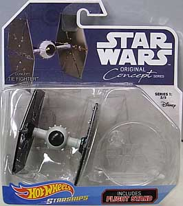 MATTEL HOT WHEELS STAR WARS DIE-CAST VEHICLE 2018 ORIGINAL CONCEPT SERIES CONCEPT TIE FIGHTER