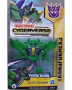 HASBRO アニメ版 TRANSFORMERS CYBERVERSE WARRIOR CLASS ACID STORM 台紙傷み特価