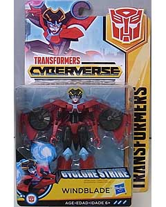 HASBRO アニメ版 TRANSFORMERS CYBERVERSE WARRIOR CLASS WINDBLADE