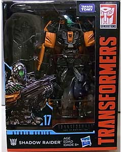 HASBRO TRANSFORMERS STUDIO SERIES DELUXE CLASS SHADOW RAIDER #17