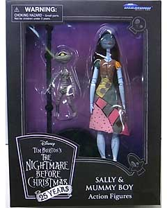 DIAMOND SELECT THE NIGHTMARE BEFORE CHRISTMAS 25 YEARS アクションフィギュア SALLY & MUMMY BOY