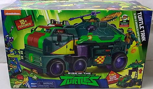 PLAYMATES RISE OF THE TEENAGE MUTANT NINJA TURTLES ビークル TURTLE TANK