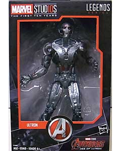 HASBRO MARVEL STUDIOS: THE FIRST TEN YEARS 映画版 AVENGERS: AGE OF ULTRON ULTRON パッケージ傷み特価