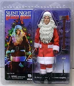 NECA SILENT NIGHT, DEADLY NIGHT 8インチドール BILLY