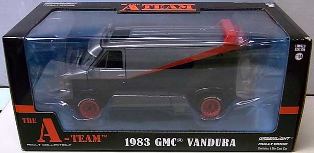 GREENLIGHT 1/24スケール THE A-TEAM 1983 GMC VANDURA