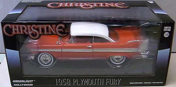 GREENLIGHT 1/24スケール CHRISTINE 1958 PLYMOUTH FURY