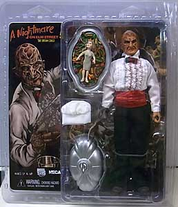 NECA A NIGHTMARE ON ELM STREET 3: DREAM WARRIORS 8インチドール FREDDY KRUEGER [CHEF]