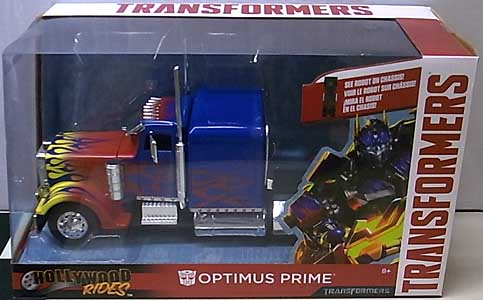JADA TOYS METALS DIE CAST 1/24スケール HOLLYWOOD RIDES 映画版 TRANSFORMERS OPTIMUS PRIME ワケアリ特価
