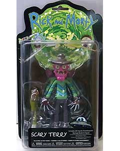 FUNKO RICK AND MORTY 5インチアクションフィギュア SCARY TERRY 台紙傷み特価