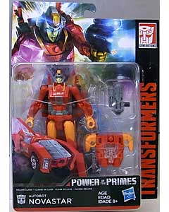 HASBRO TRANSFORMERS GENERATIONS POWER OF THE PRIMES DELUXE CLASS AUTOBOT NOVASTAR ブリスター傷み特価