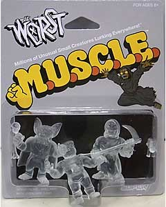 SUPER 7 MUSCLE THE WORST 3PACK [CLEAR , PACK A]