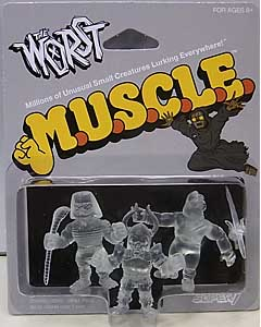 SUPER 7 MUSCLE THE WORST 3PACK [CLEAR , PACK B]