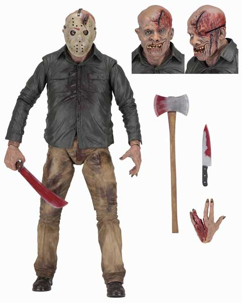 NECA FRIDAY THE 13TH THE FINAL CHAPTER 1/4スケールアクションフィギュア JASON VOORHEES