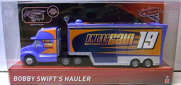 MATTEL CARS 3 HAULER BOBBY SWIFT'S HAULER