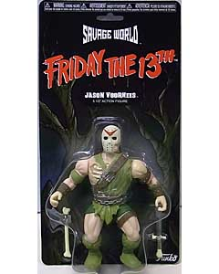 FUNKO SAVAGE WORLD 5.5インチアクションフィギュア FRIDAY THE 13TH JASON VOORHEES