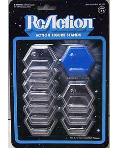 SUPER 7 REACTION FIGURES 3.75インチアクションフィギュア用 STAND [BLUE入り]