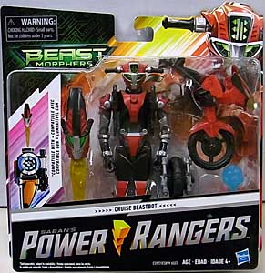 HASBRO POWER RANGERS BEAST MORPHERS 6インチスケールアクションフィギュア CRUISE BEASTBOT