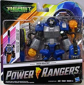 HASBRO POWER RANGERS BEAST MORPHERS 6インチアクションフィギュア SMASH BEASTBOT