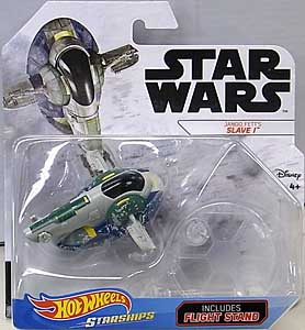 MATTEL HOT WHEELS STAR WARS DIE-CAST VEHICLE 2019 JANGO FETT'S SLAVE I