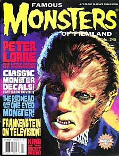 FAMOUS MONSTERS OF FILMLAND #245