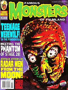 FAMOUS MONSTERS OF FILMLAND #248