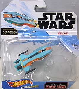MATTEL HOT WHEELS STAR WARS DIE-CAST VEHICLE 2019 TORRA DOZA'S BLUE ACE 台紙傷み特価