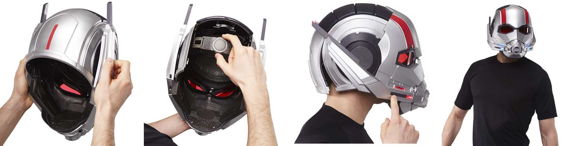 HASBRO MARVEL LEGENDS 2019 ANT-MAN ELECTRONIC HELMET