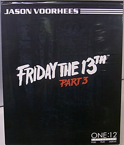 MEZCO ONE:12 COLLECTIVE FRIDAY THE 13TH PART III JASON VOORHEES