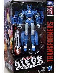 HASBRO TRANSFORMERS SIEGE DELUXE CLASS CHROMIA