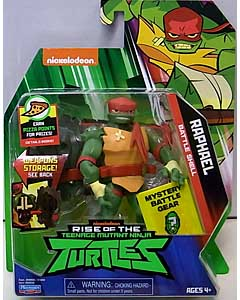 PLAYMATES RISE OF THE TEENAGE MUTANT NINJA TURTLES ベーシックフィギュア BATTLE SHELL RAPHAEL ブリスター傷み特価
