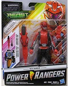 HASBRO POWER RANGERS BEAST MORPHERS 6インチアクションフィギュア RED RANGER
