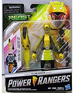 HASBRO POWER RANGERS BEAST MORPHERS 6インチアクションフィギュア YELLOW RANGER