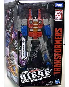 HASBRO TRANSFORMERS SIEGE VOYAGER CLASS STARSCREAM